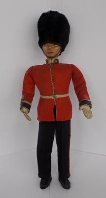 Early Queen's guard figure - 13""