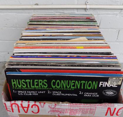 Large box of mixed LPs