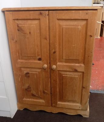 2 door pine cupboard