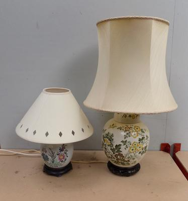 2 quality lamps fully tested (PAT)