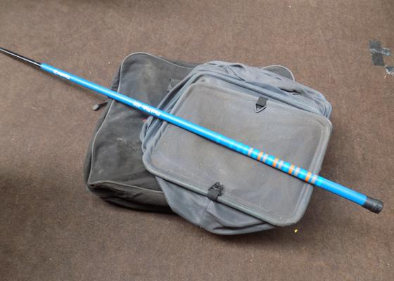 Keep net + fishing rod with bag