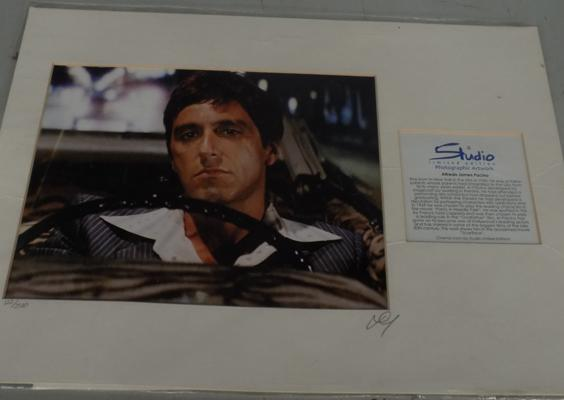 Limited edition Scarface/ Alpacino bio with COA