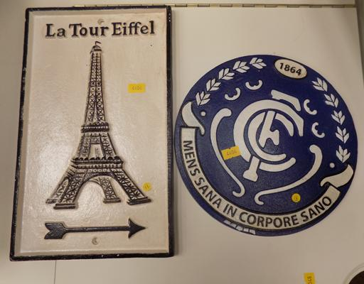 'La Tour Eiffel' & CFC sign