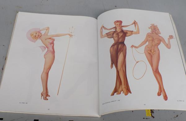Vargas book of 'The History of Pinup's'