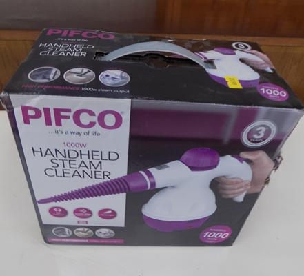 Pifco steam cleaner - brand new, still in box