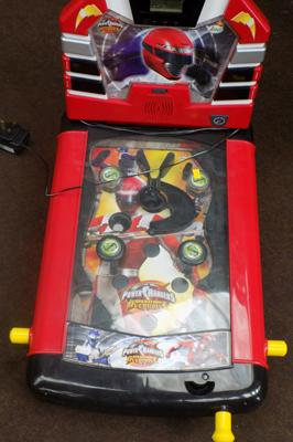 Kid's Power Rangers pinball machine in W/O