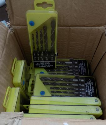Box of 20 drill sets