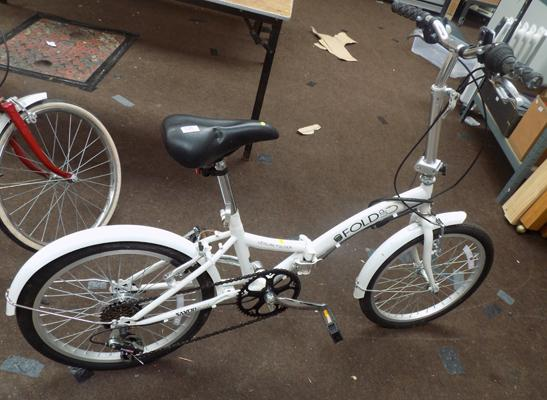 Saxon folding adult's bike