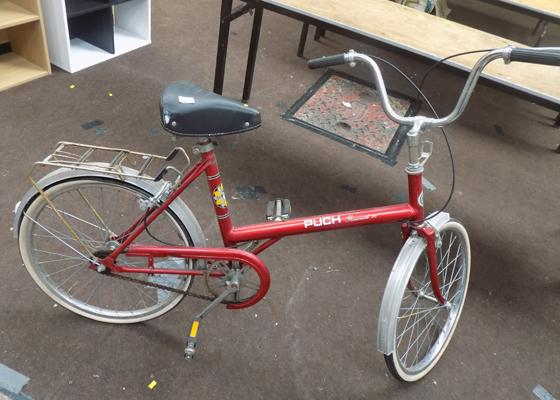 Vintage Puch Promenade Ladies bike