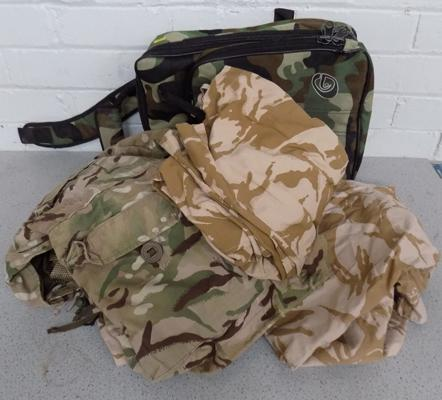 Bag of camouflage clothing