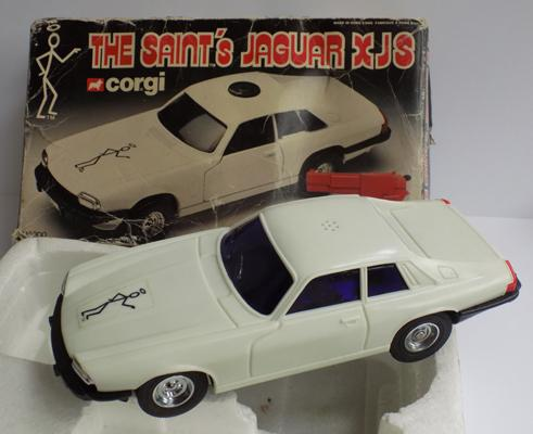 The Saint Jaguar XJS remote control car - boxed