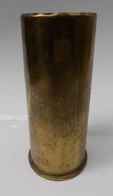 Brass military shell