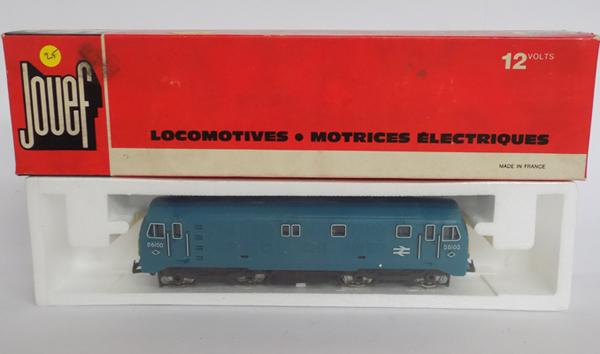 Boxed Jouef oo gauge locomotive