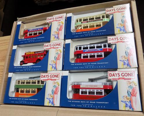 Six Days Gone By die-cast trams