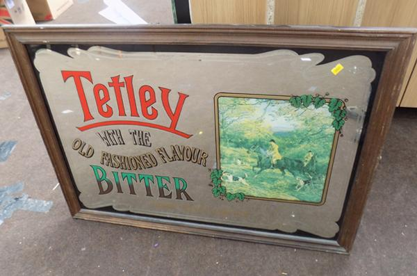 Large 'Tetley' mirror