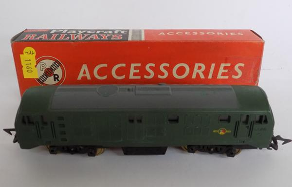 Boxed 60 gauge locomotive