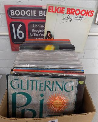 Box of LP's incl. Classic, pop etc.