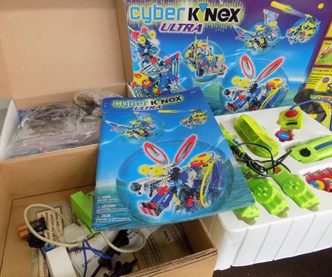 Knex Cyber Ultra + instructions, complete