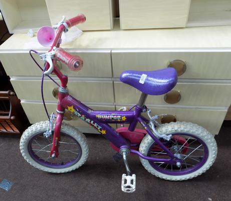 Bumper child's bike