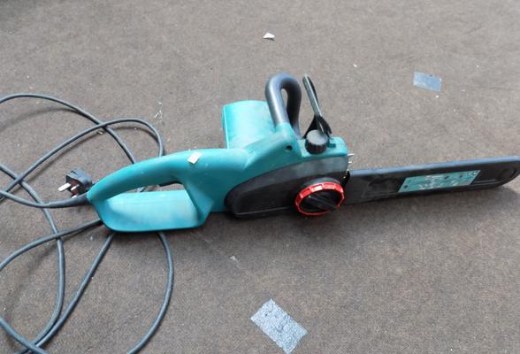 Bosch 240v chainsaw