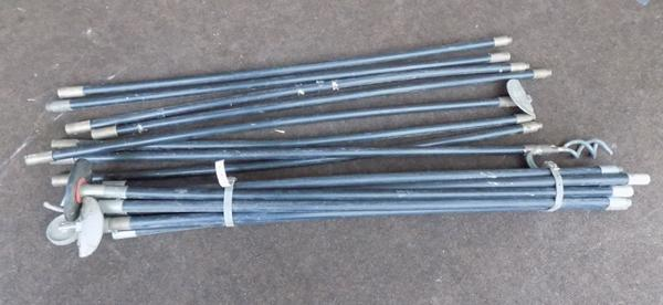 Selection of drain rods