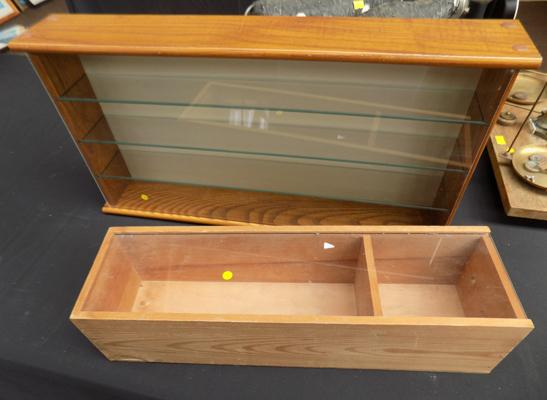 Selection of display cases