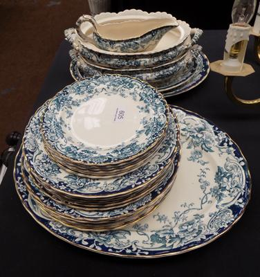 Vintage Chatsworth dinner service