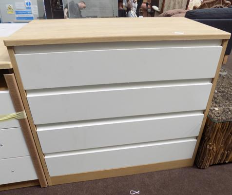 New four drawer chest of drawers