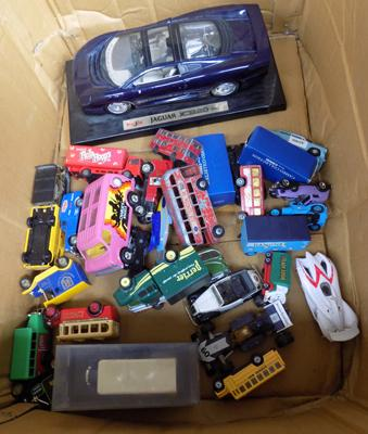 Box of mixed die-casts