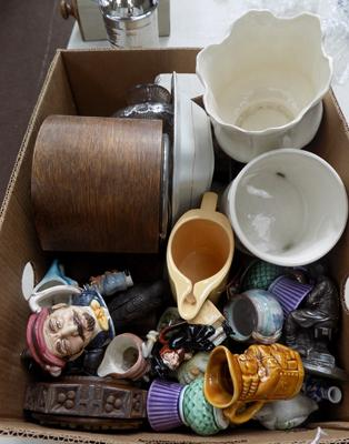 Box of mixed items