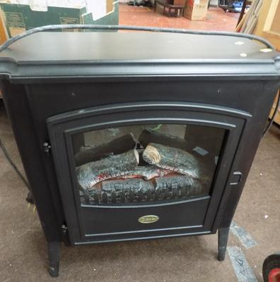 Dimplex electric fire - W/O