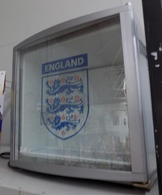 England table top fridge