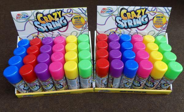 Approx. 48 x Silly String