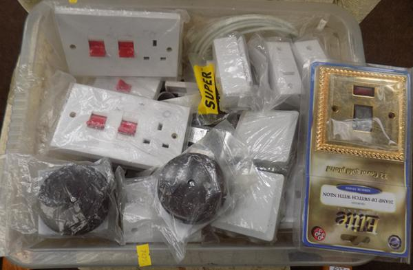 Box of electrical switches