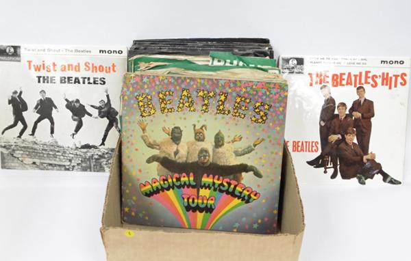 Beatles singles & EPs, over 40