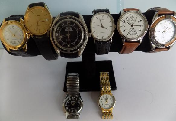 Collection of gent's watches, incl. Slazinger Quartz