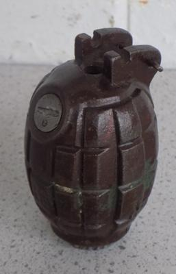 British WW1/WW2 'Mills' grenade (de-activated)