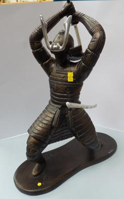 Large Samurai warrier figure