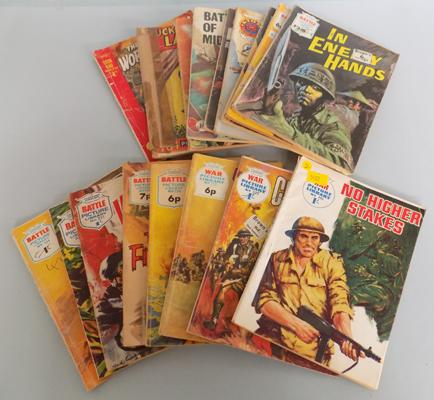 Collection of war pictures, library comics etc...