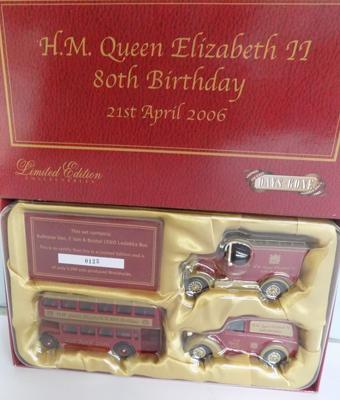 Days Gone By Limited Edition, 3 car set with certificate, boxed