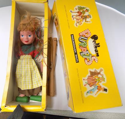 1930's Pelham puppet in original box - 'Gretal'