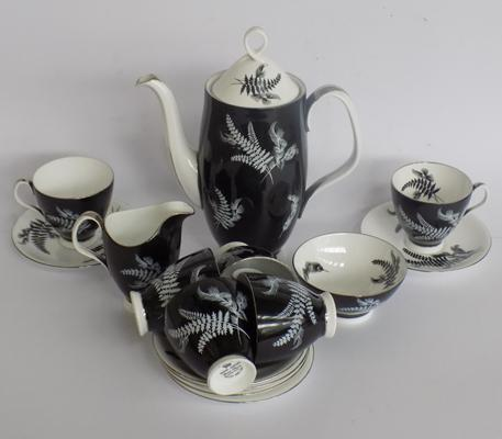 Royal Albert night and day coffee set