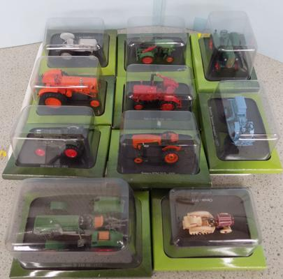 10x 1.42 scale Diecast tractors