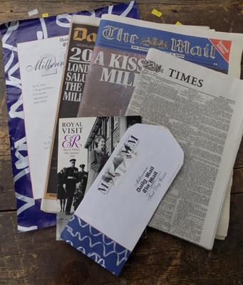 Selection of Coronation newspapers/ ephemera