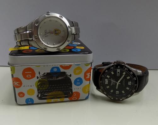 Fossil Leeds United watch + 1 other
