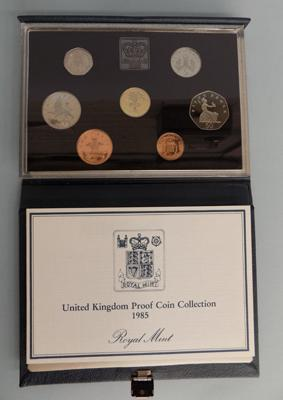 1985 Proof coin set