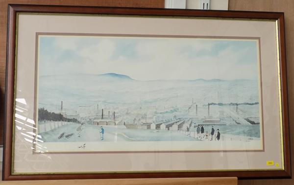 Limited edition print 234/375, late Leeds artist, GW Birks