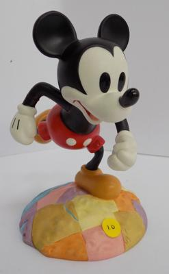 "Walt Disney classics - Mickey Mouse figure -'Top of the World', approx. 4"" - no box"