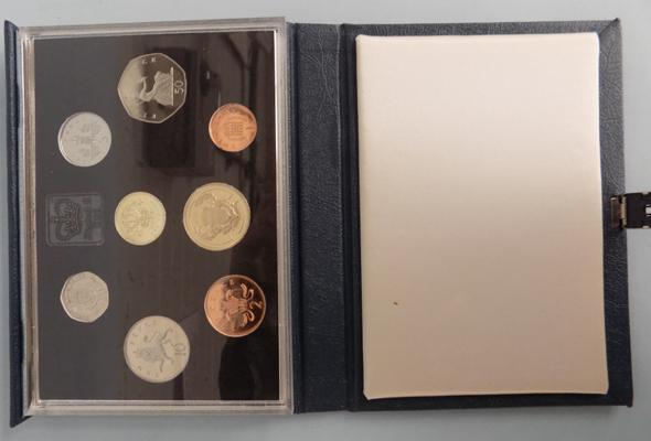 1986 Proof coin set