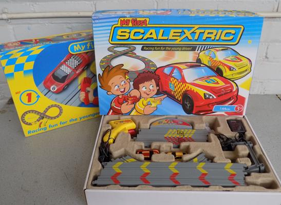 Two x Scalextric 'My First' (both complete)